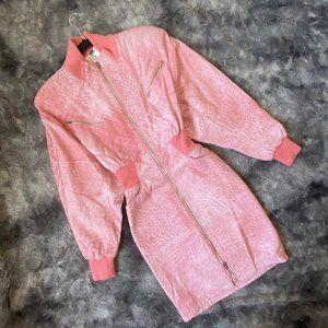 VTG Michael Hoban Leather Dress